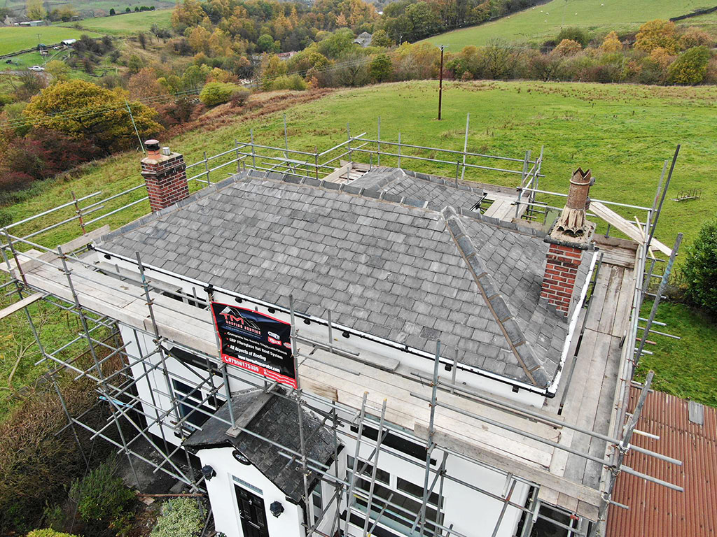 Re-Roofing in Littleborough