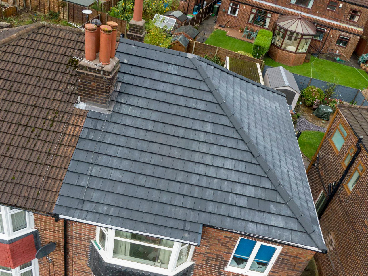 Re-Roof in Chadderton