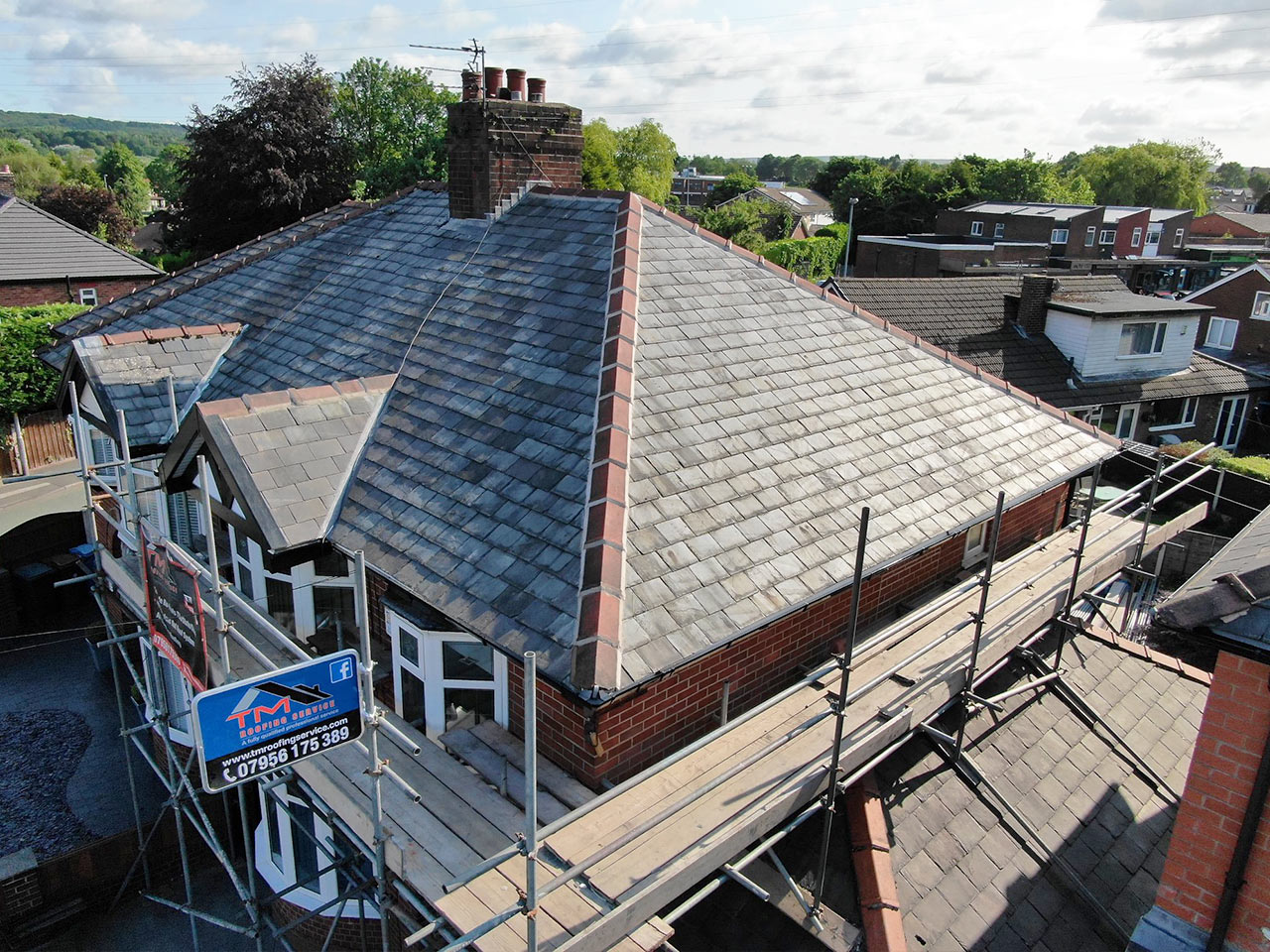 Complete Re-slate Roofing