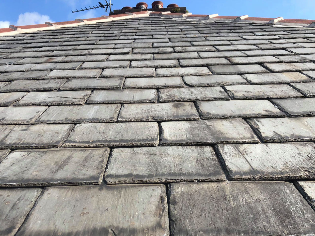 Slate Re-Roofing