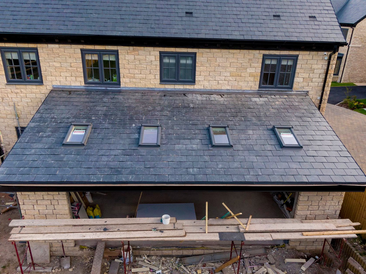 Extension Roofing in Norden